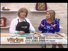 Caminho de Mesa Entrelaçado - Ana Cosentino - Vitrine do Artesanato na TV - YouTube