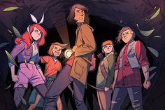 Anthony's miscellaneous comics picks for May 2016 #boomstudios #lumberjanes