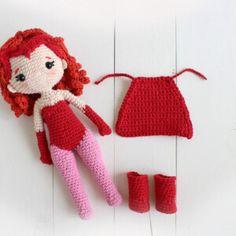 Cómo hacer Amigurumis - Aumentos y disminuciones - Lulu Loop Amigurumi Patterns Crochet Frog, Crochet Amigurumi Free Patterns, Triangles, Patron Crochet, Scarlet Witch Marvel, Amigurumi Doll, Stitch Markers, Double Crochet, Crochet Hooks
