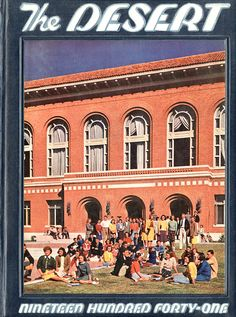 1941 Desert, University of Arizona Yearbook