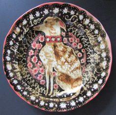 Anthropologie-CORNELIA-O-039-DONOVAN-Woodland-Picnic-Dessert-Plates-3