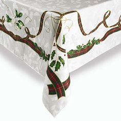 Lenox Holiday Nouveau 60x120 Tablecloth