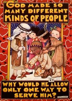 God made so many different kinds of people; why would he allow only one way to serve Him? ~ Martin Buber (art by Mary Engelbreit ) Different Kinds, Mary Engelbreit, Kinds Of People, Friends, Childrens Books, Art Quotes, Holiday Cards, Spirituality, Faith