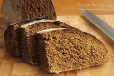 Pâine de secară pufoasă European Cuisine, My Recipes, Banana Bread, Pancakes, Deserts, Vegan, Cooking, Food, Mai