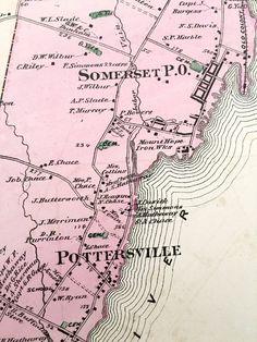 MA Atlas History Genealogy Maps 1911 New Bedford Bristol County Massachusetts