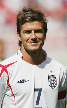ff272bdbb The best of Football from arounf the globe. Vintage photos included. David  Beckham Football