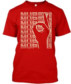 "Kappa Alpha Psi ""Nupe"" Apparel Classic Red T-Shirt Front"