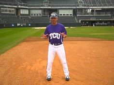 Associate Head Coach Randy Mazey, TCU, shows you the proper way to run and breakdown through first base. Stay tuned for more Coach Mazey Baseball Tips.