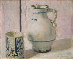 William Nicholson, Pink Still Life with Jug