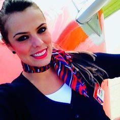 TAM Airlines Stewardess