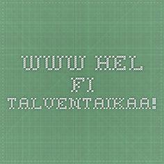 www.hel.fi Talventaikaa!