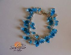Sublime Metier: Bratara Caribbean Sea Caribbean Sea, Ear, Bracelets, Handmade, Jewelry, Hand Made, Jewlery, Jewerly, Schmuck