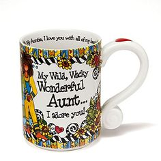 Aunt Coffee Tea Mug By Enesco Designed By Suzy Toronto