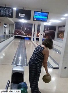 Bowling isn't for everyone