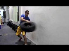 Treinamento com Pneus - YouTube