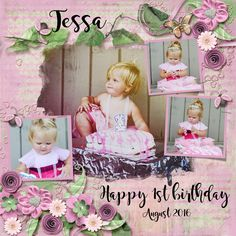 Tessa's first birthday, August 2016. Kit used: Tender Memoir by PattyB Scraps Kit link:  GDS: http://www.godigitalscrapbooking.com/shop/index.php?main_page=product_dnld_info&cPath=29_335&products_id=30607 Template used: The Bigger Picture 4d by Heartstrings Scrap Art Template link: https://www.digitalscrapbookingstudio.com/digital-art/templates/the-bigger-picture-4/