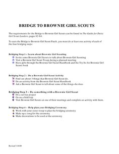 Daisy Girl Scout Promise Law Petal