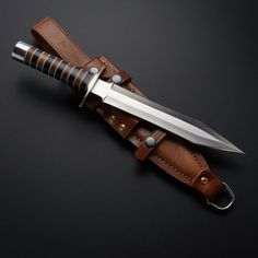 D2 Rosewood + Micarta Gladius Dagger