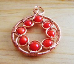 wire jewelry designs | tutorial shows step by step guides in making this wire jewelry designs ...