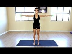 The Best Ways to Lose Flabby Arms Without Push-Ups : LIVESTRONG - Fitness with Amber Nimedez - YouTube.  This is just a good reminder of simple things to do with light weights or soup cans to start.