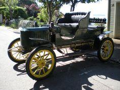 1908 EX Stanley Steam car