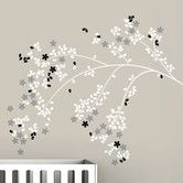 Found it at AllModern - Tree Branches Blossom Wall Decal
