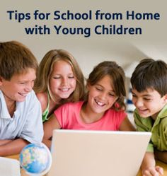 """""""Learning Coach Secrets: Dos and Don'ts of Virtual School with Young Kids"""" from Connections Academy online school. Pin to Prepare—Create a Pinboard of """"Cool Tools for Online School"""" for a Chance to Win! #onlinelearning #elementaryschool #kindergarten"""