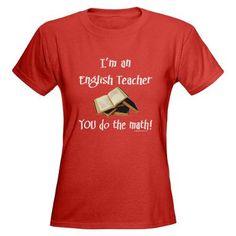 I'm an English teacher -- you do the math.  Haha...