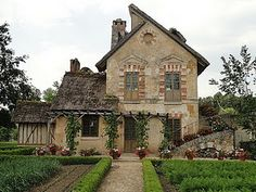 Beautiful Stone House.