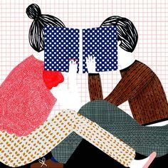 Illustration: Manon de Jong #books #reading