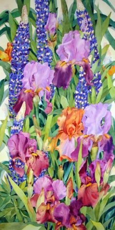 Jan Ford   WATERCOLOR