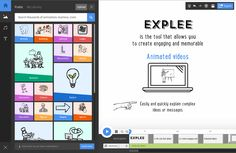 Explee allows you to make eyecatching and interactive animated video. Go for video scribing and whiteboard animation to blow your audience away.