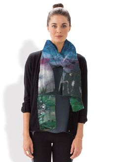"""""""Rainbow Dancers"""" scarf by Aditi-Kali. Products about to go into production. Place your orders now."""