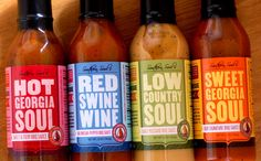 #southern #soul #sauce #bottle #bbq #hot #sauce #packaging #design #identity #logo #package #product #unique #good