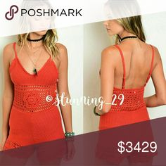 "🆕**ARRIVING SOON**THE ADELLA RED CROCHET ROMPER SUPER BOHO SEXY & RIGHT ON TREND!  FEATURES A GORGEOUS FITTED SILHOUETTE, A V NECKLINE & ADJUSTABLE SPAGHETTI STRAPS, ADORABLE W/ LOTS OF ACCESSORIES & A PAIR OF BOOTIES. ✔PRESS LIKE NOW FOR A NOTIFICATION & A POSSIBLE SHIP DISCOUNT WHEN THESE BEAUTIES ARRIVE ✔L:36/B:26/W:24/ INSEAM 3.5"". MORE INFO & DETAILS SOON Stunning_29 Shorts"