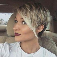 Coupe courte cheveux fins facile a coiffer