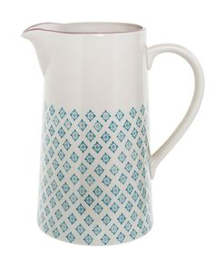 Ceramic Patrizia Pitcher by Bloomingville Tableware edbdbf401600e