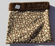 Burrow Bag, Snuggle Sack, Chihuahua Sack, Paw Print Fabric, Guinea Pig Bed, Dog Sleeping Bag, Cat Den, Pet Bed Warmer, Dog Cave Bed #HedgehogBed #DoxieBedWarmer #DoxieBurrowBag #FlannelSnuggleSack #PetBedWarmer #DogSleepingBag #WeenieBed #PawPrintFabric #DogCaveBed #CatDen