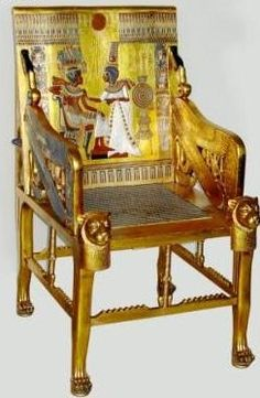 The royal Egyptian chair - available only on urbandazzle.com