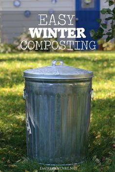 Easy Winter Composting - a smart, time-saving method | empressofdirt.net