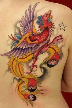 50 Beautiful Phoenix Tattoo Designs | Showcase of Art