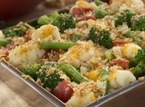 Baked Veggie Casserole   This looks like a keeper to me and will be making it before to long.