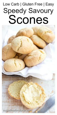 4 Points About Vintage And Standard Elizabethan Cooking Recipes! Light, Buttery And Just On The Right Side Of Flaky - These Savory Scones Aka Almond Flour Biscuits Are A Great Side For A Low Carb Lunch Or Dinner. Almond Flour Biscuits, Baking With Almond Flour, Almond Flour Recipes, Keto Biscuits, Almond Bread, Coconut Flour, Low Carb Lunch, Low Carb Breakfast, Keto Cookies