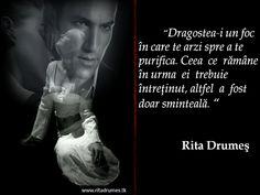 Imagine: Rita Drumeş: Citate despre dragoste de Rita Drumes