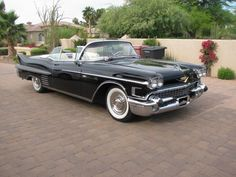 1958 Cadillac Convertible Restored Show Winner