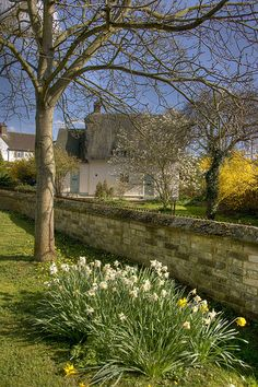 Spring in Chipping Norton, Cotswolds