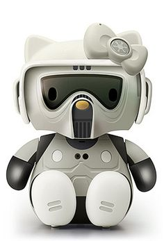 Hello Scout trooper Kitty by yodaflicker, via Flickr