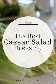 Restaurant Grade Caesar Salad Dressing Delicious Caesar Salad Dressing like you find at your favourite restaurant. - The best ceasar salad dressing recipe. Easy, creamy and delicious dressing for your any dinner. Ceasar Salad Recipe Dressing, Homemade Ceasar Dressing, Salad Dressing Recipes, Salad Recipes, Salad Dressings, Creamy Dijon Dressing Recipe, Ceasar Salad Recipe Easy, Gastronomia, Al Dente