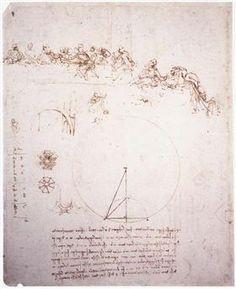 Study for the Last Supper - Leonardo da Vinci