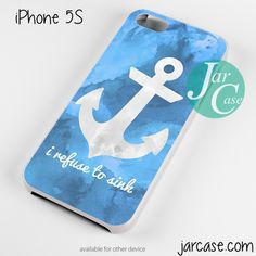 I refuse to sink Phone case for iPhone 4/4s/5/5c/5s/6/6 plus